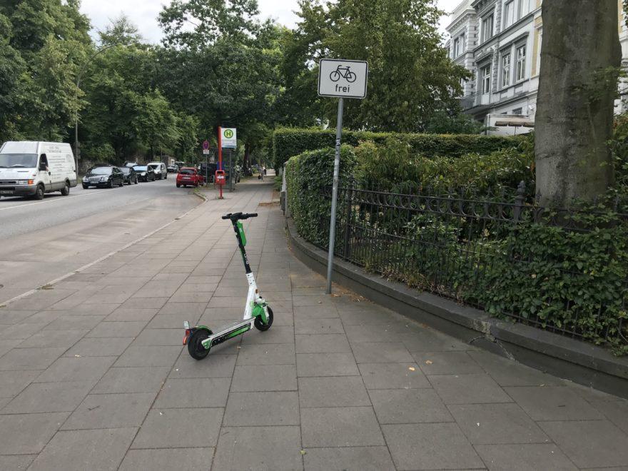 E-Scooter erlaubt ?