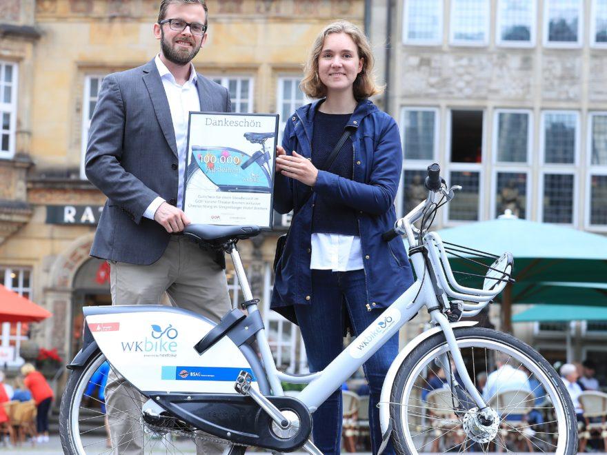 Fahrradverleihsystem WK-Bike